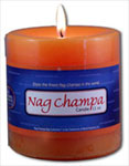 Nag Champa Pillar Candle (3